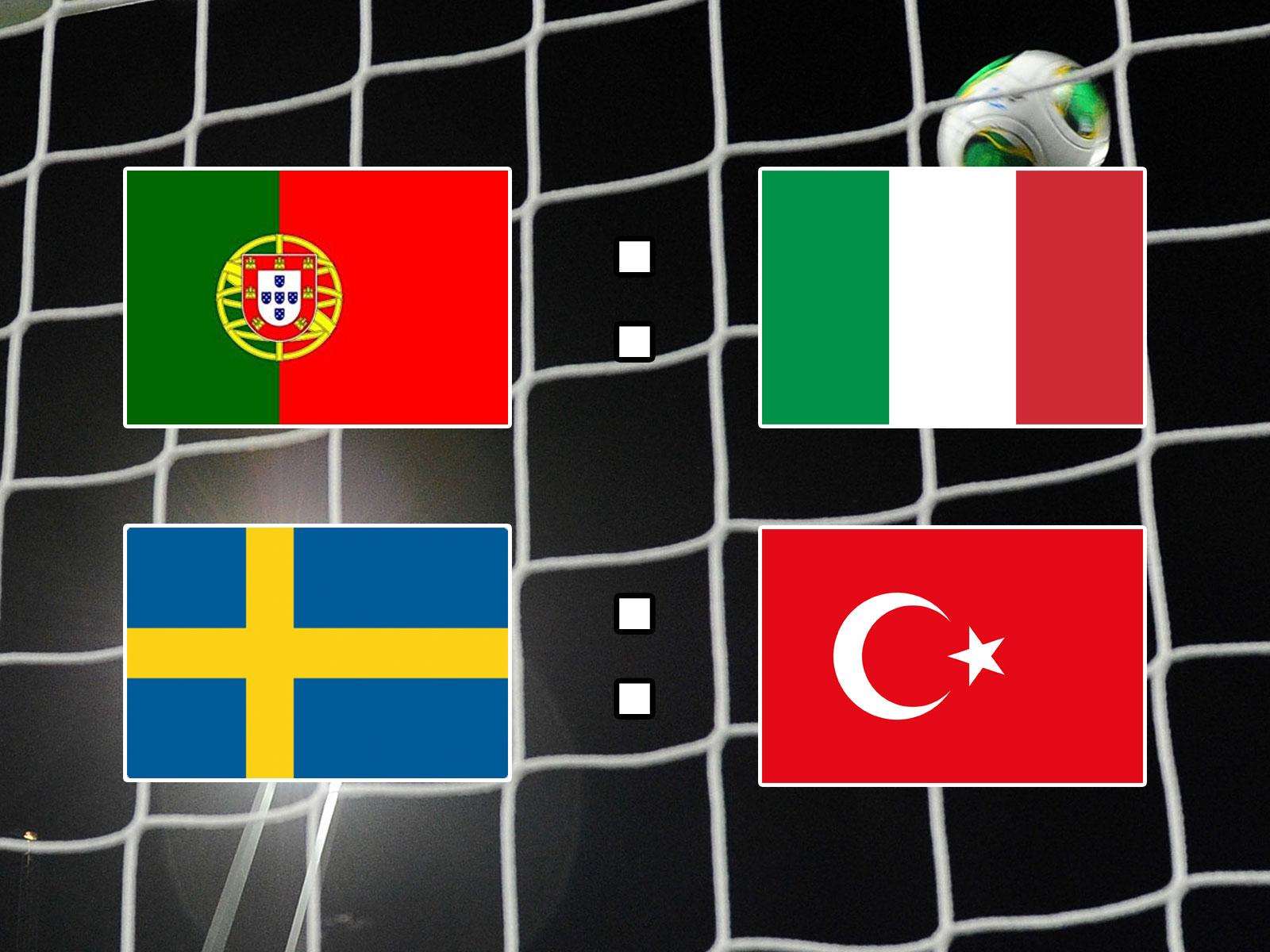 italien gegen schweden live