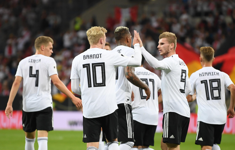 Fussball Deutschland Gegen Peru