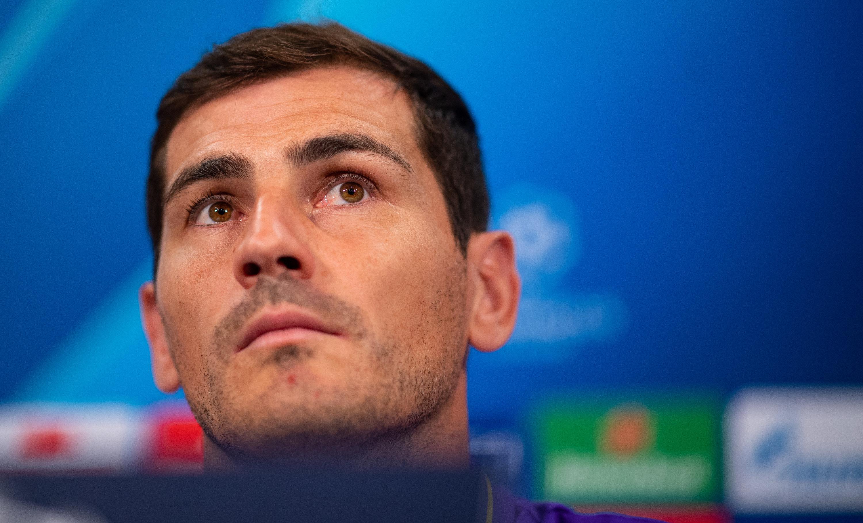 Iker Casillas vor dem Champions-League-Spiel gegen Schalke 04