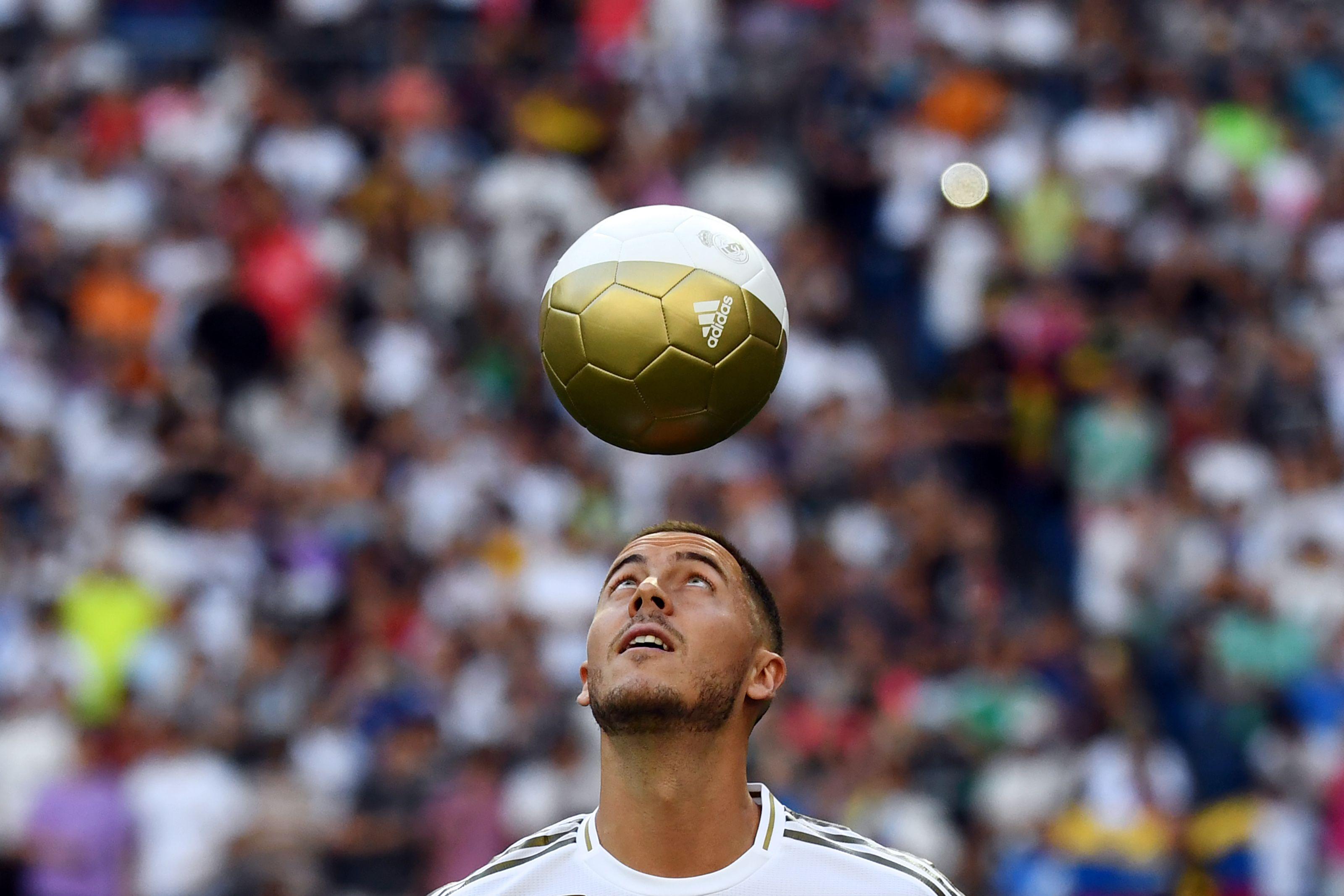 Eden Hazard wurde bei Real Madrid präsentiert.