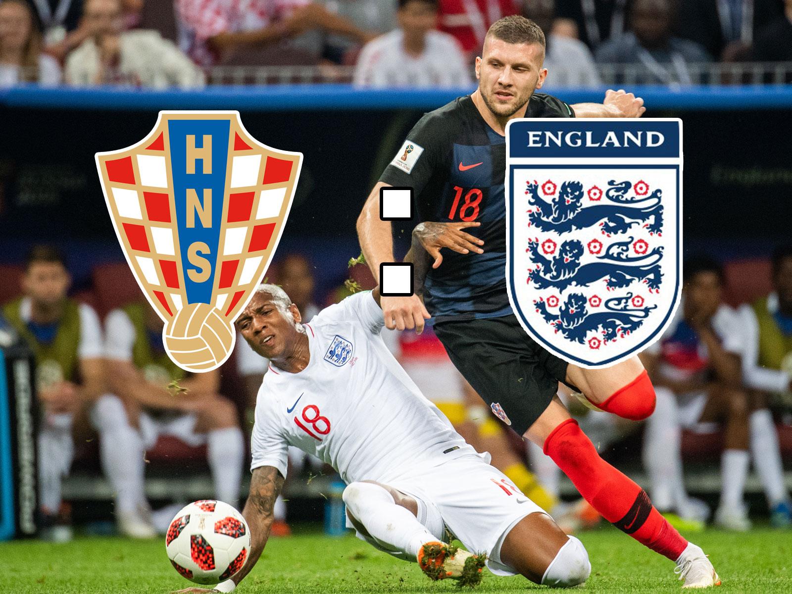 Live Ticker: Kroatien empfängt England.