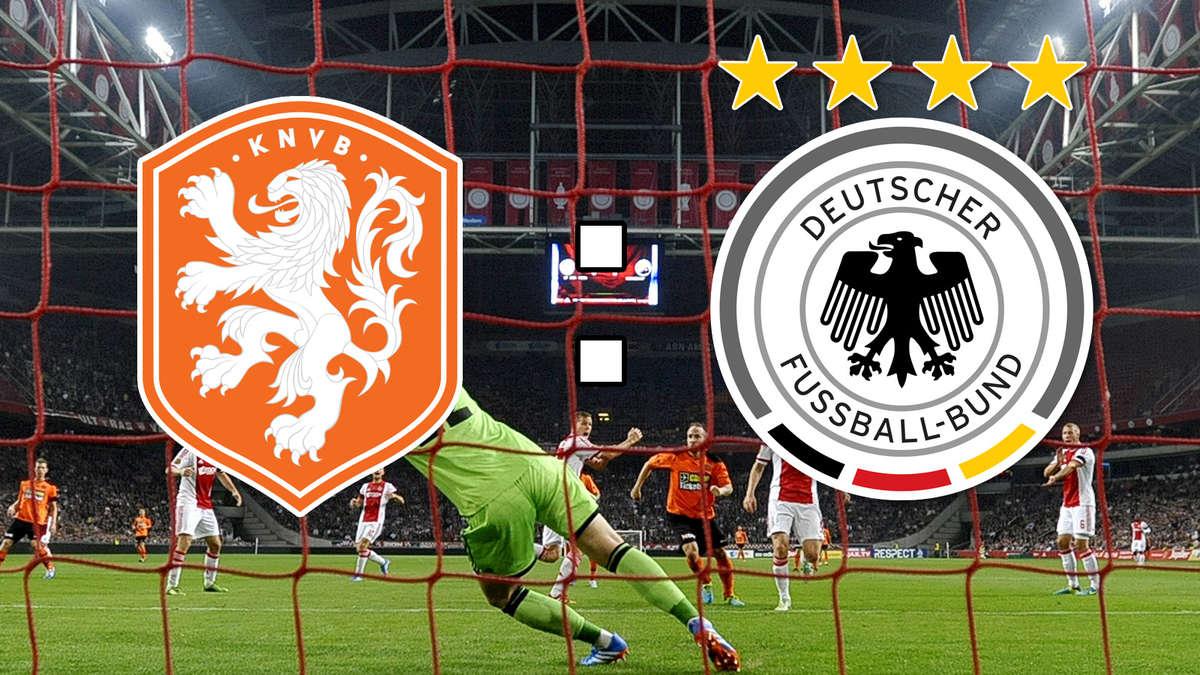 Fussball Deutschland Niederlande