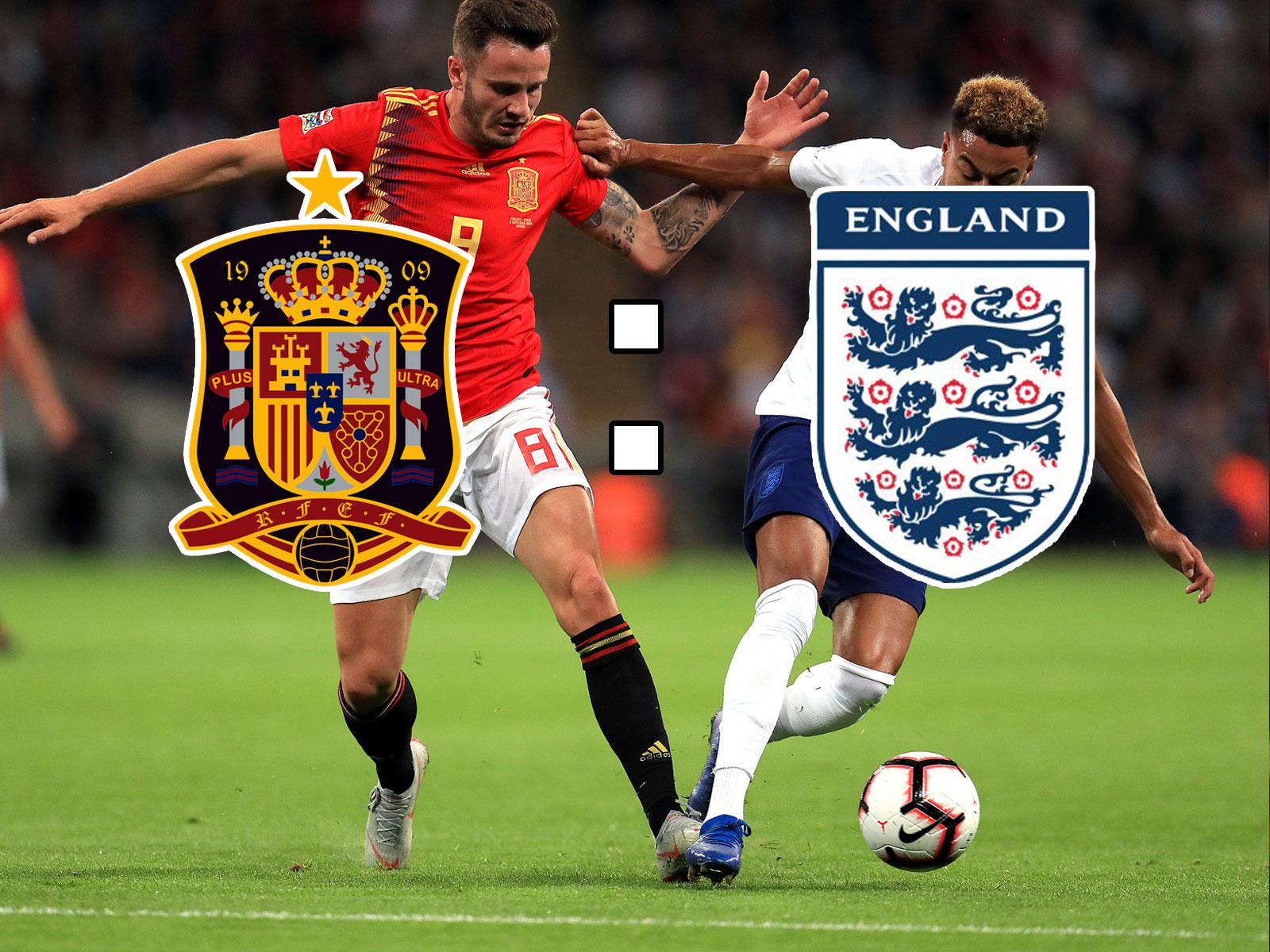 Spanien musste in der Nations League gegen England eine bittere Niederlage einstecken.