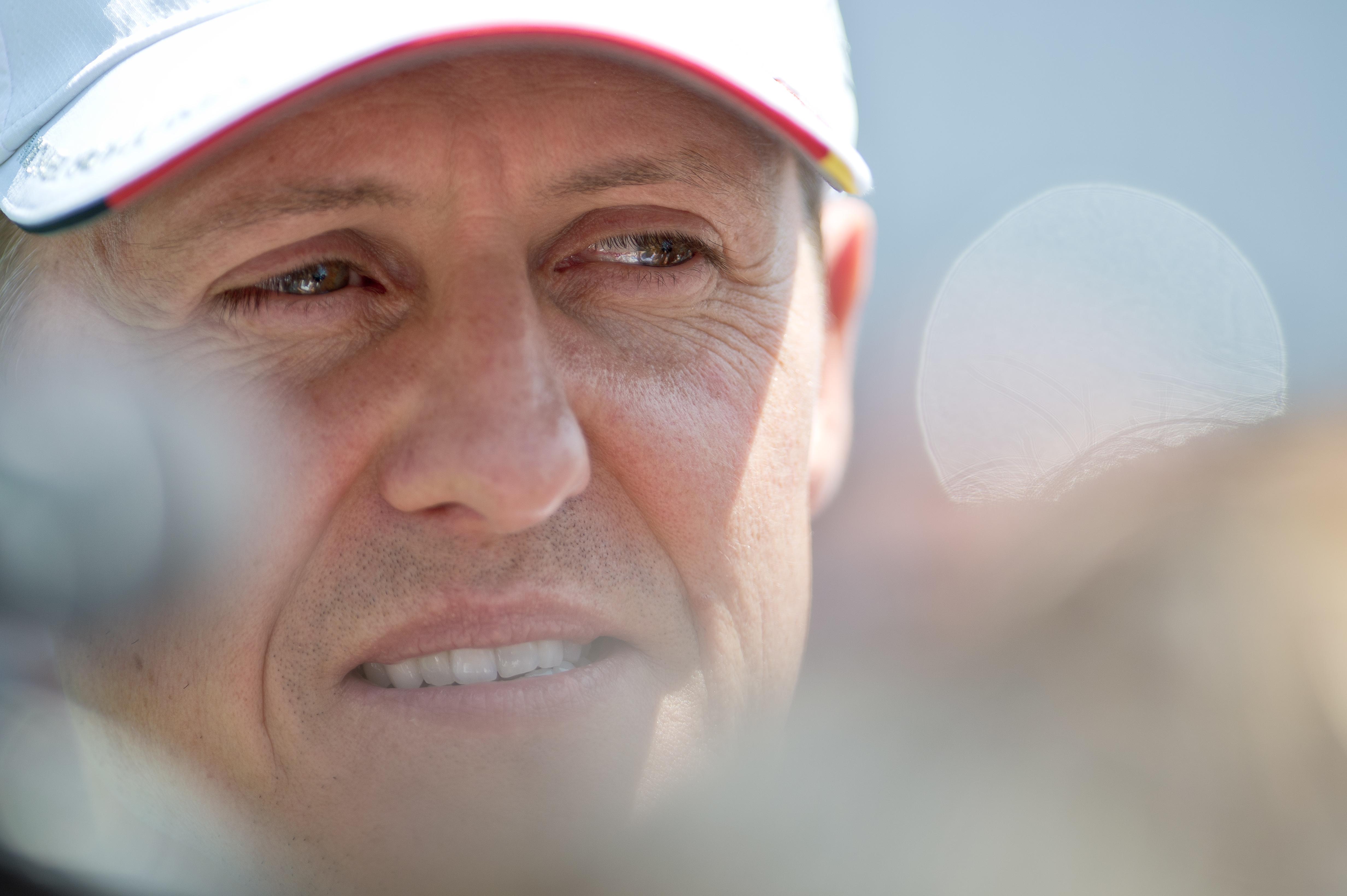 Flavio Briatore (l.) und Michael Schumacher.