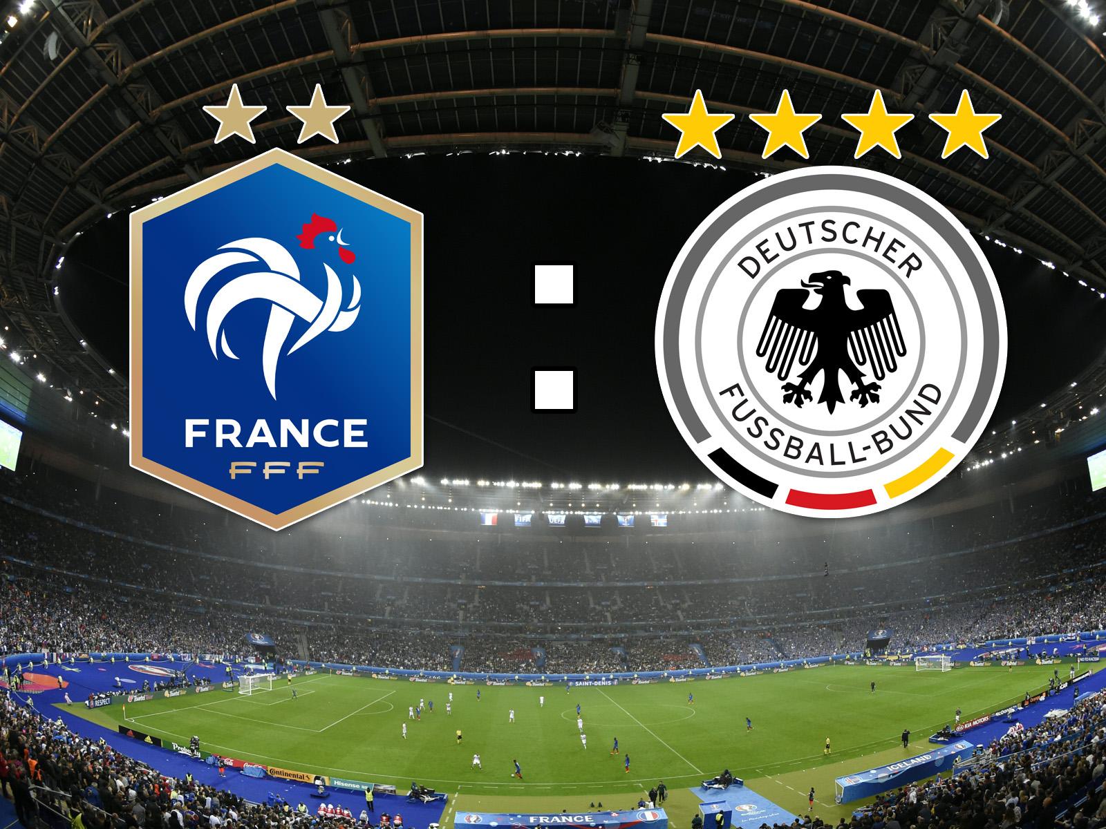 deutschland gegen frankreich live
