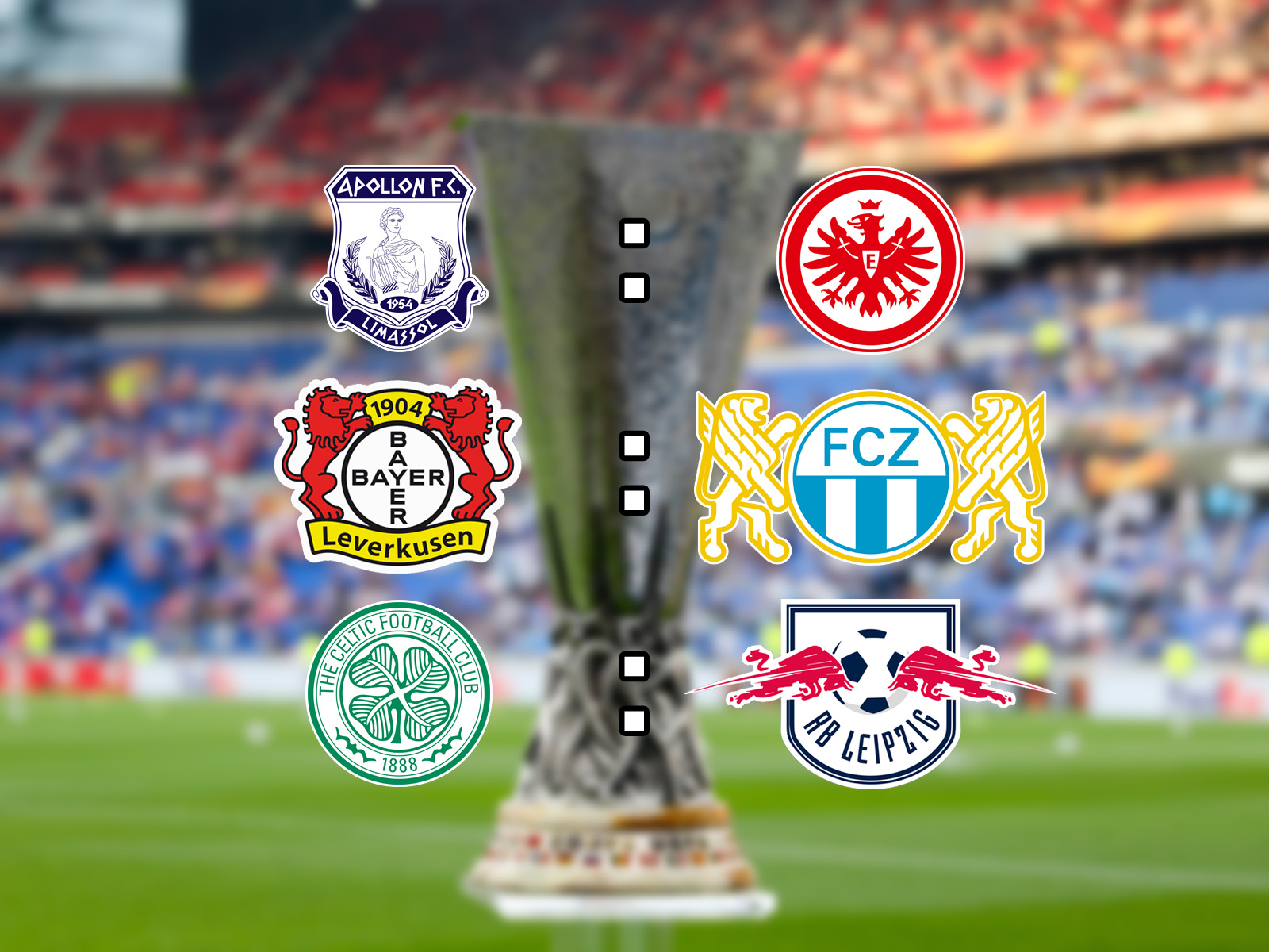 Europa League Live-Ticker: Leverkusen empfängt Zürich, Glasgow gegen Leipzig und Limassol gegen Frankfurt