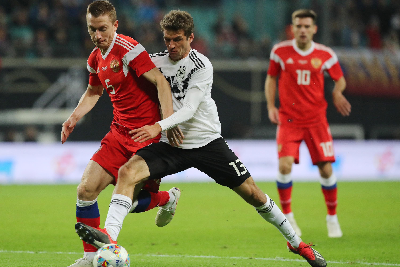 Deutschland konnte gegen Russland einen klaren Sieg einfahren.