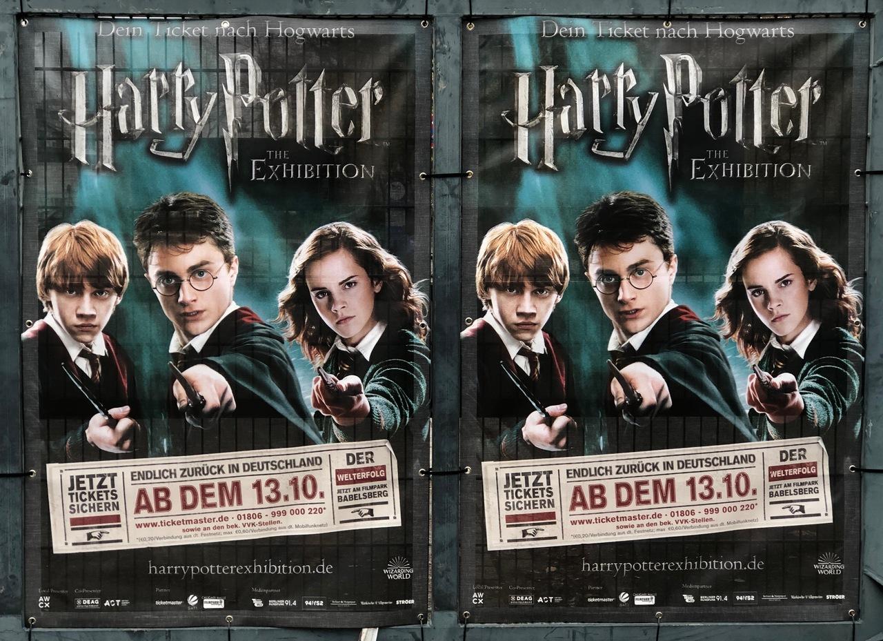 Harry Potter Ausstellung Babelsberg