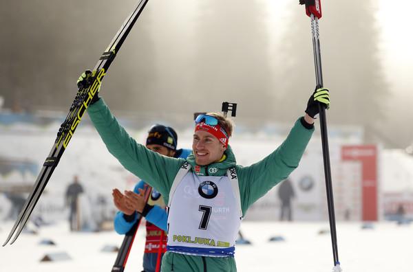 Biathlon Weltcup Pokljuka: Johannes Kühn wird Zweiter im Einzelrennen.