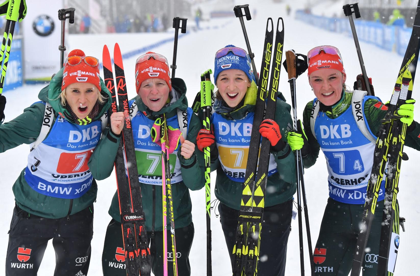 Heute Biathlon