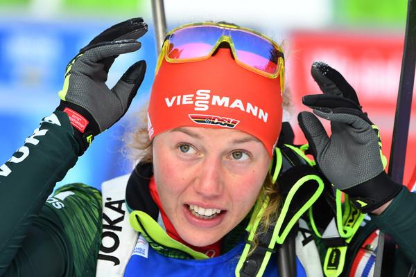 Biathlon Weltcup In Antholz Davidova Gewinnt Dahlmeier Auf Platz Vier