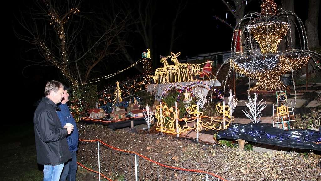 Ein Fest Für Die Augen Am Weihnachtshaus Calle Das Ziel Sind Eine