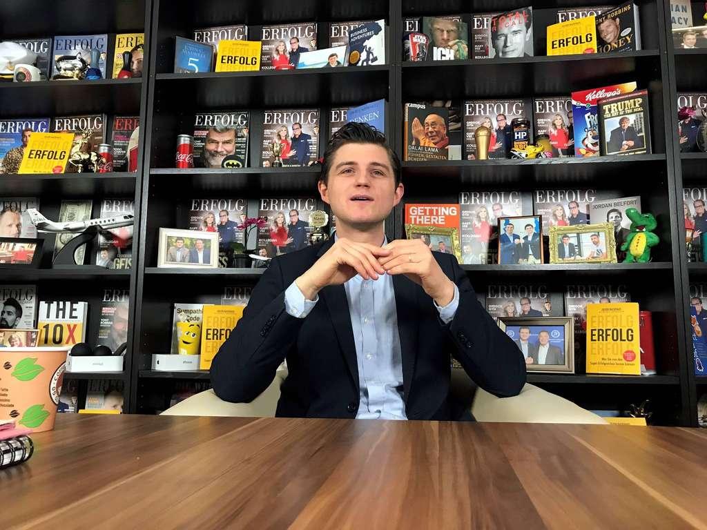 Serie Digitales Leben: Wie Medienunternehmer Julien D