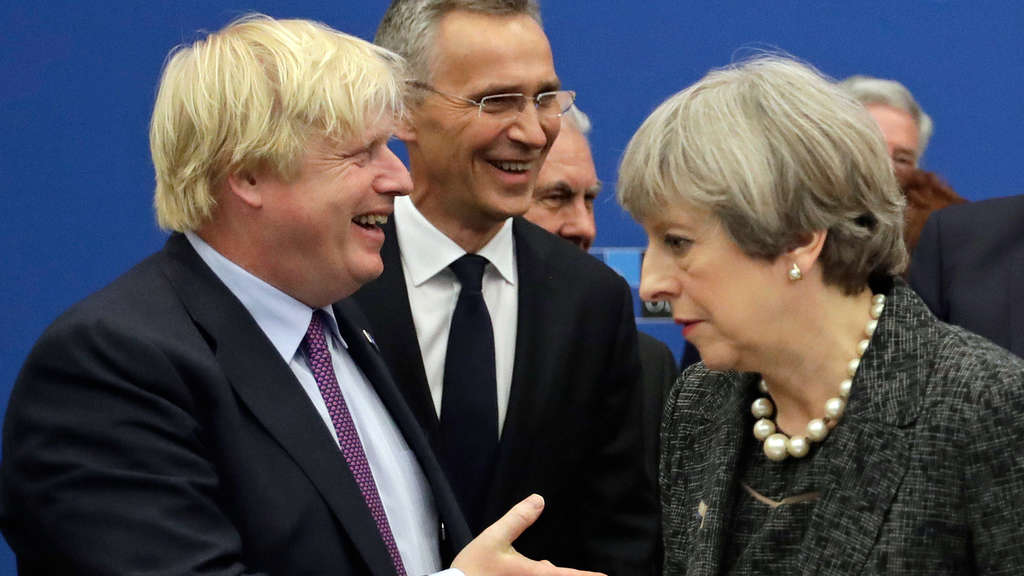 Theresa May und Boris Johnson
