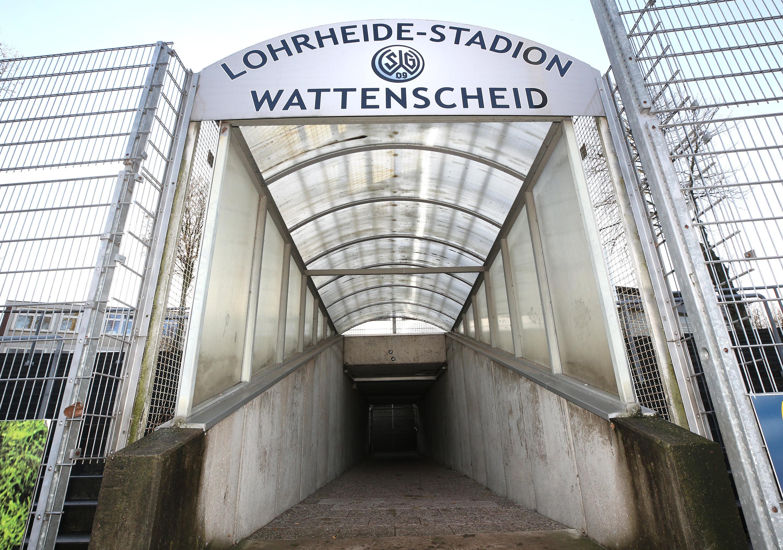 Gehen hier bald die Lichter aus? Die SG Wattenscheid 09 ist im Lohrheide-Stadion zu Hause.