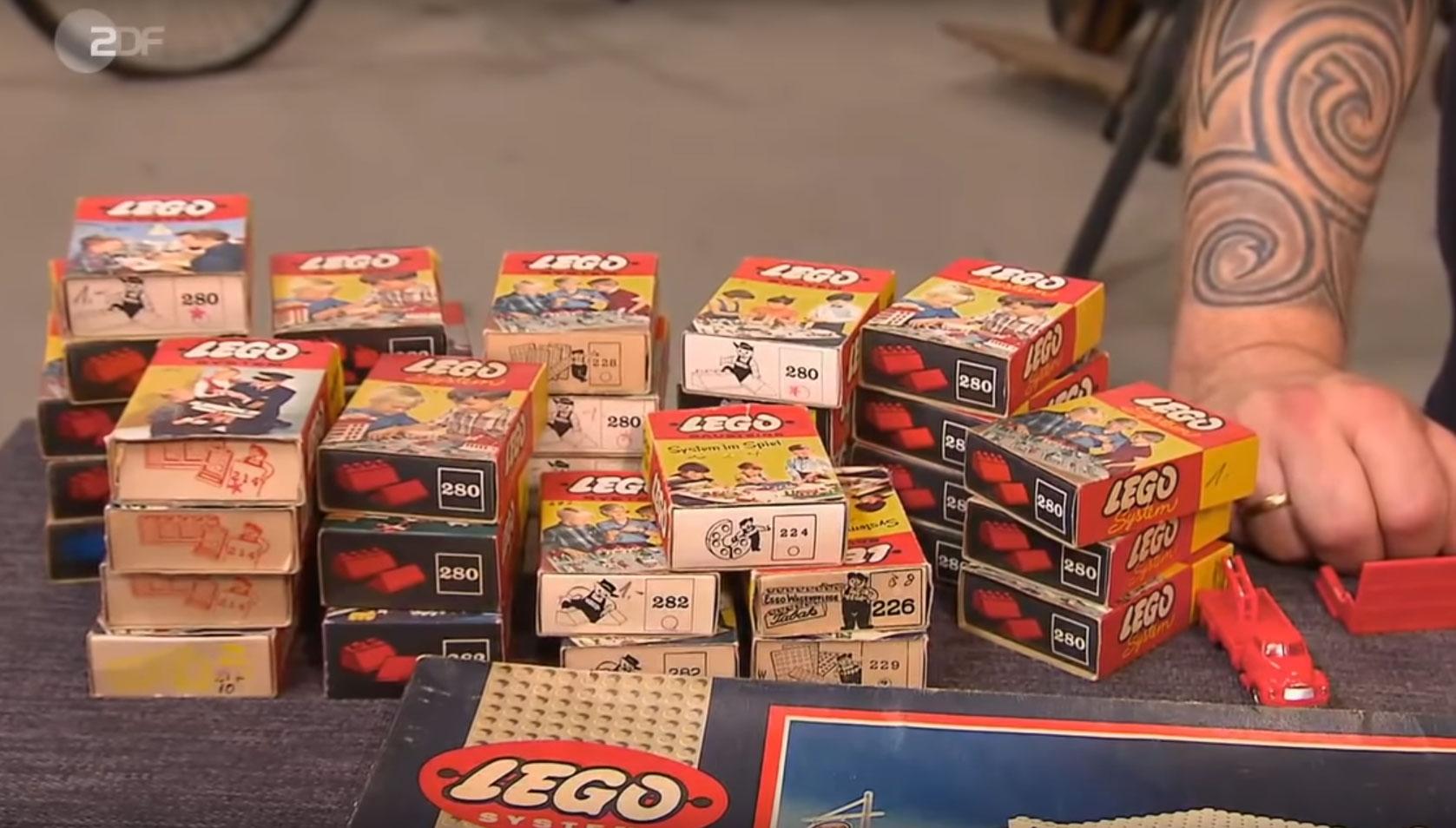 Gehen Sie gut mit Ihren Lego-Steinen um, denn sie könnten mal viel wert sein.