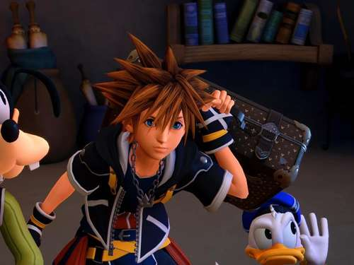 Disney trifft «Final Fantasy» - «Kingdom Hearts 3»