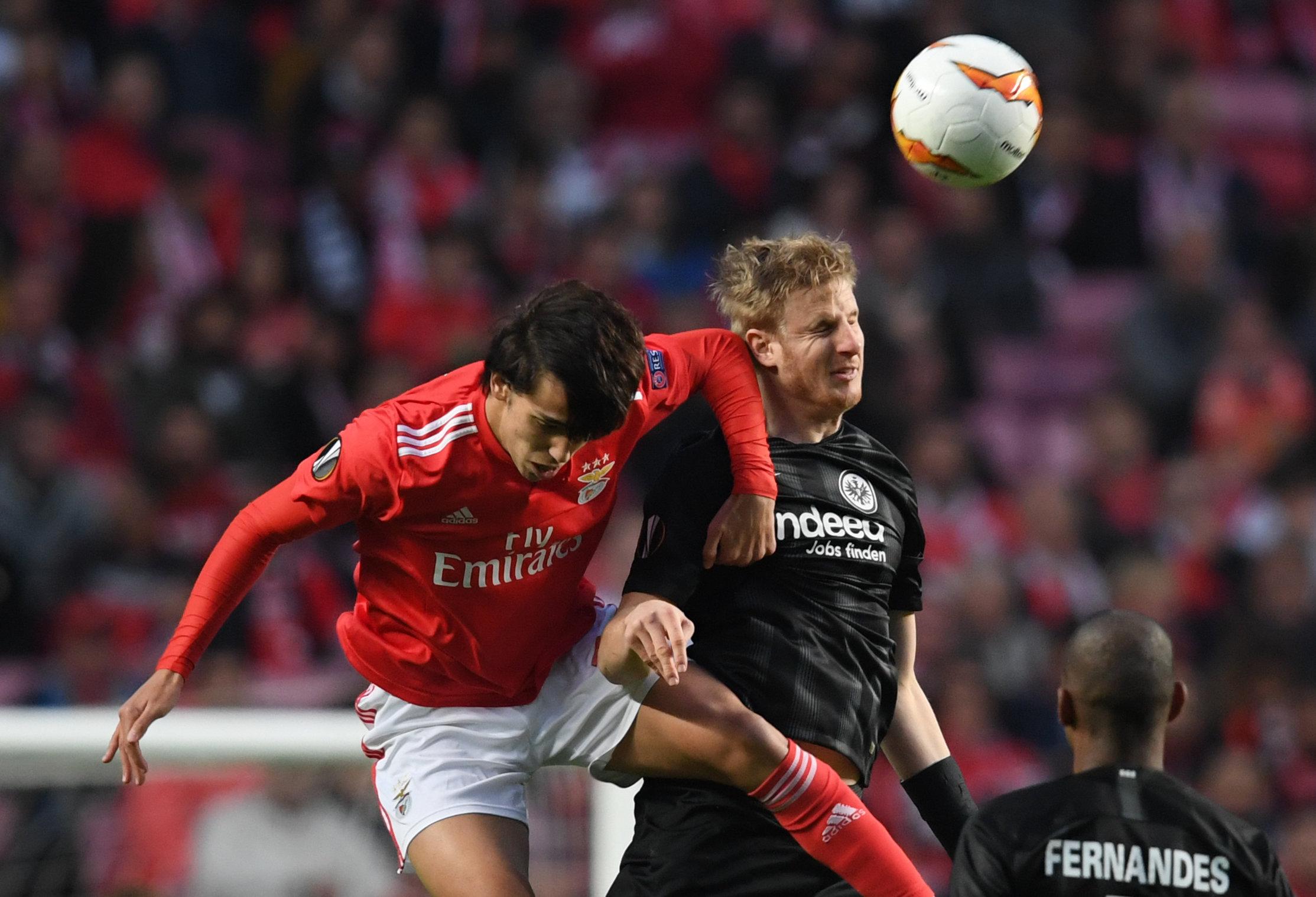 Joao Felix (links) wechselt für 126 Millionen Euro zu Atletico Madrid.