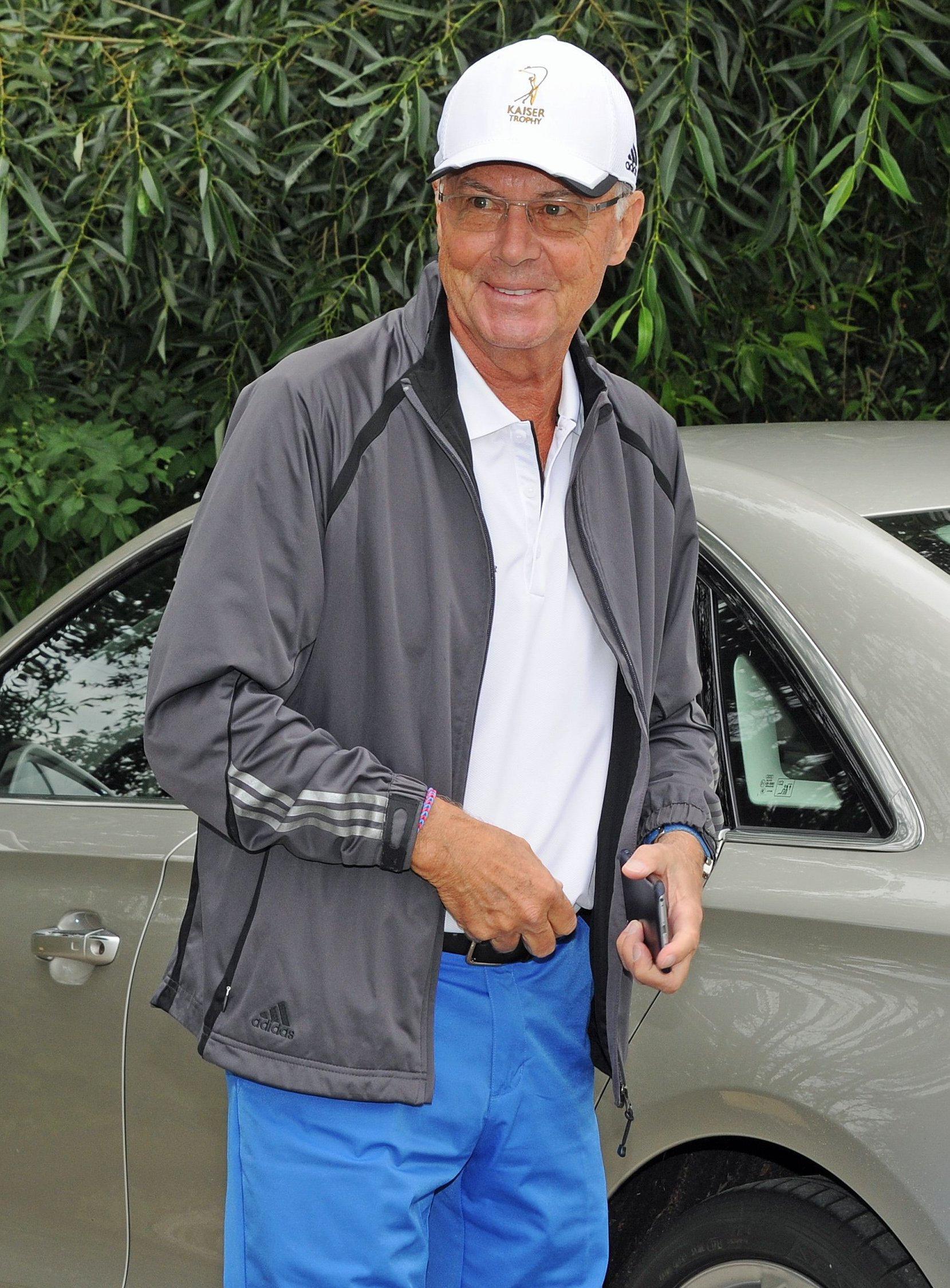 Franz Beckenbauers Enkel ist verliebt.