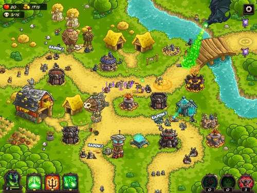 """Kingdom Rush Vengeance"" - Tower Defense andersherum"