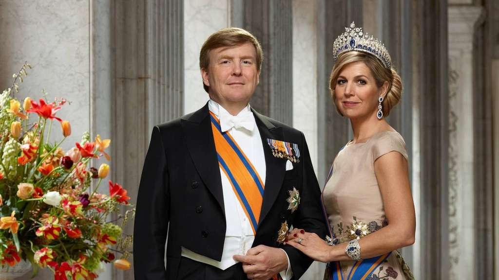 König Willem Alexander Und Königin Máxima Besuchen Am Mittwoch