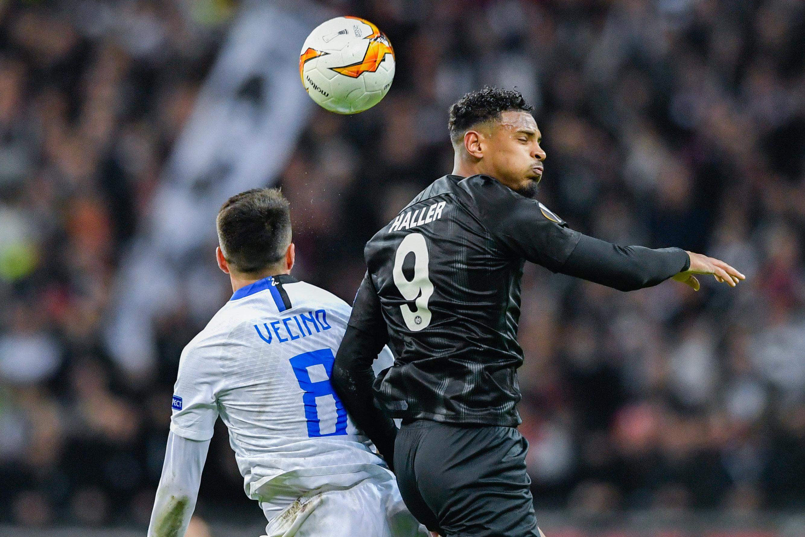 Eintracht Frankfurtmuss sich im Hinspiel gegen Inter trotz großem Kampf mit einem torlosen Remis zufrieden geben.