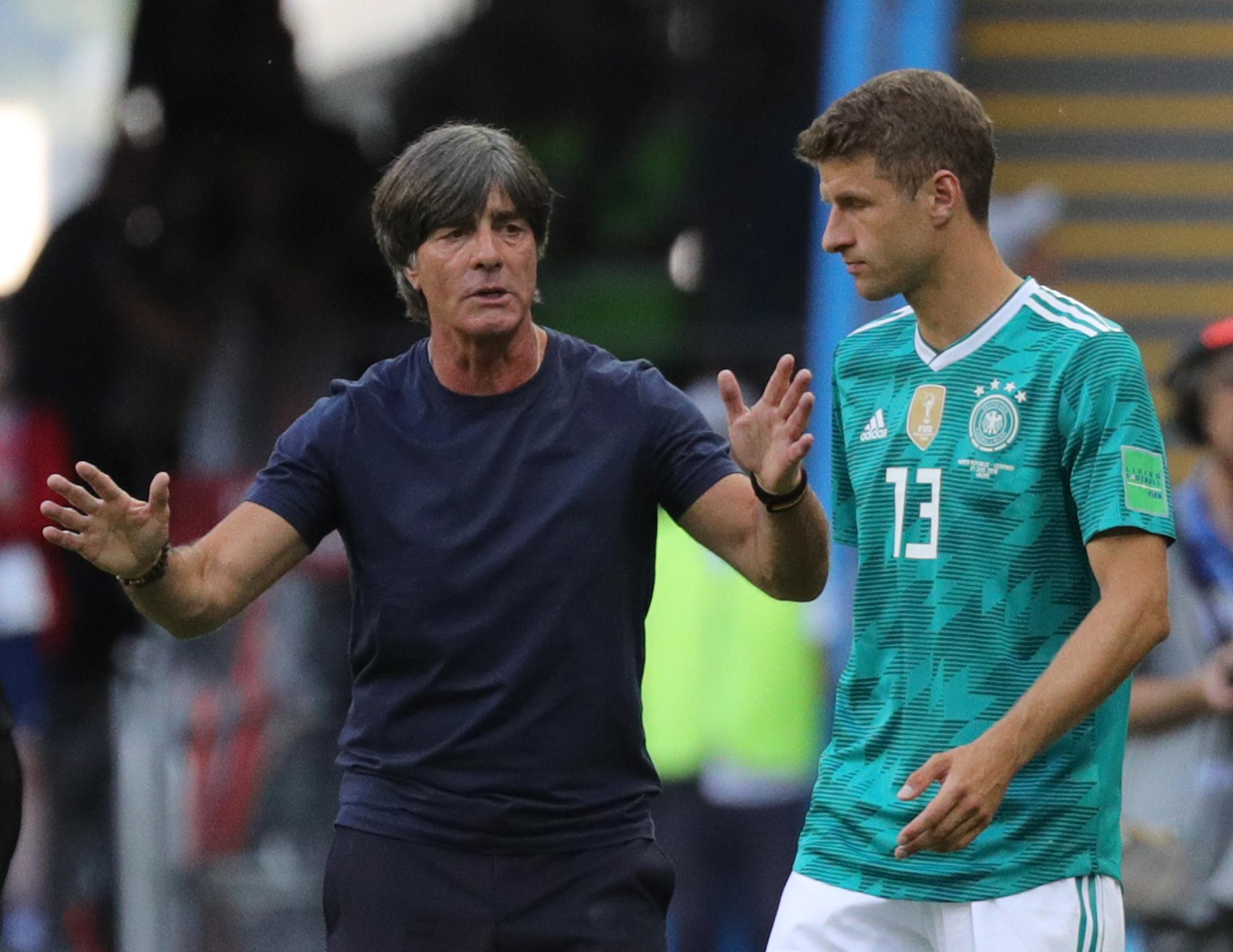 Schlechte Stimmung: Löw plant in Zukunft ohne Müller. Der Angreifer rechnete unlängst mit dem Bundestrainer ab.