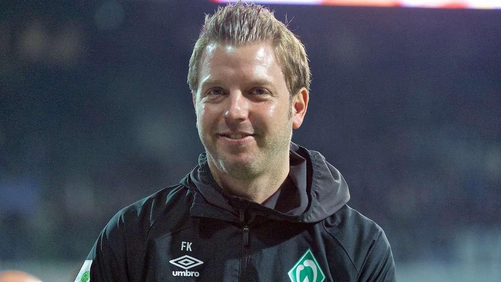 Werder-Coach Florian Kohfeldt mit einer klaren Ansage vor dem Spiel gegen Bayer Leverkusen.