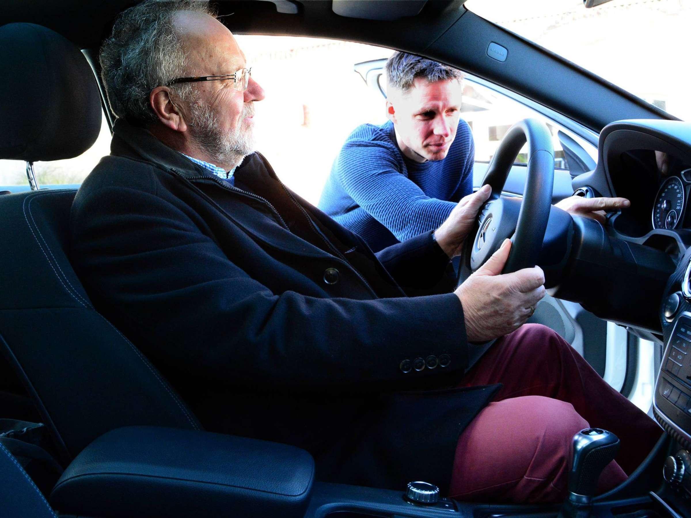 Was tun gegen nervosität fahrstunde