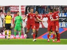 Klares Statement im Bundesliga-Gipfel: Der FC Bayern bezwingt Borussia Dortmund auf eigenem Platz nach einer Gala mit 5:0. Damit übernimmt der Rekordmeister wieder die Tabellenführung.