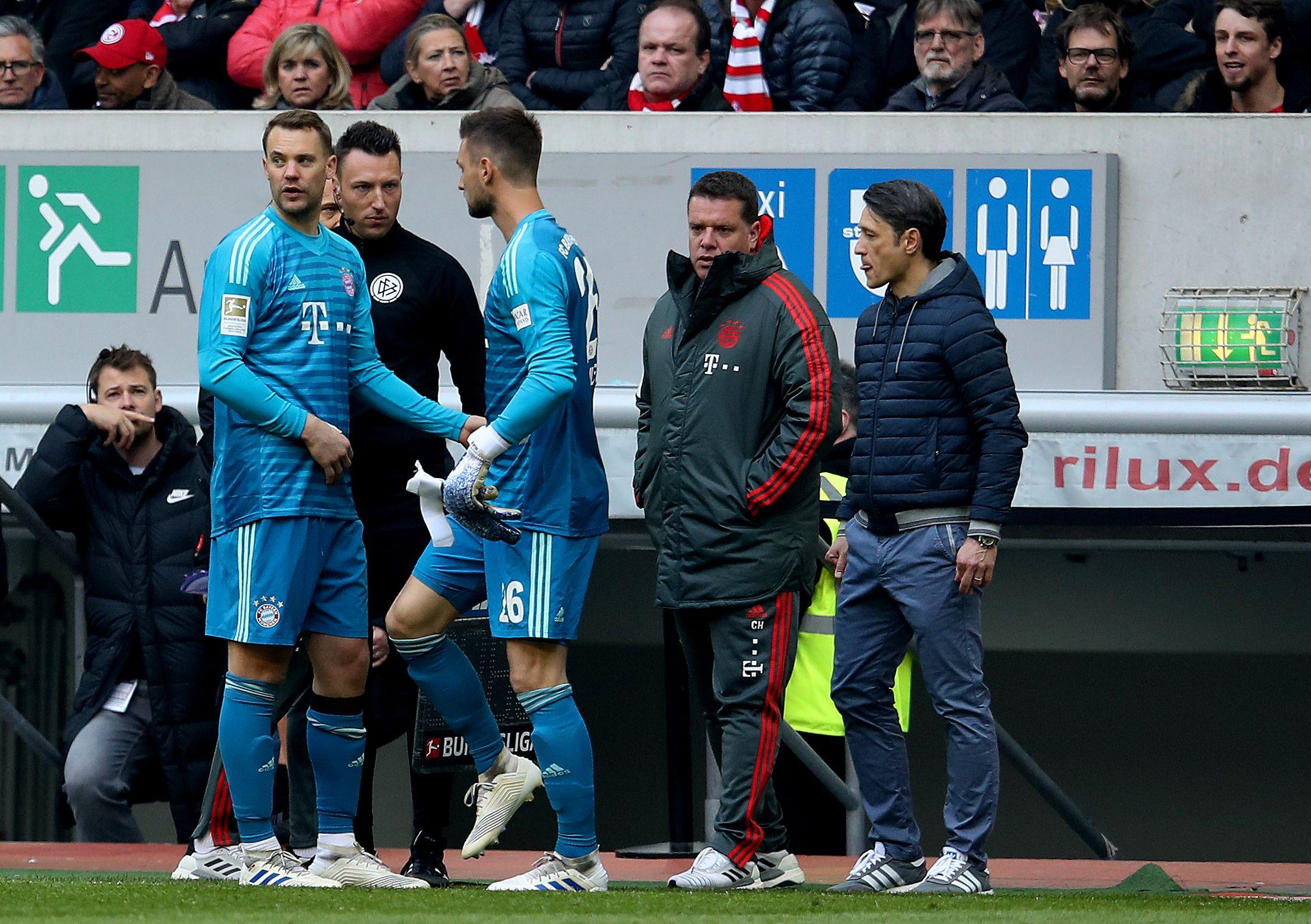 Sven Ulreich wird Manuel Neuer im Kasten vertreten. Aber wer setzt sich auf die Bank?