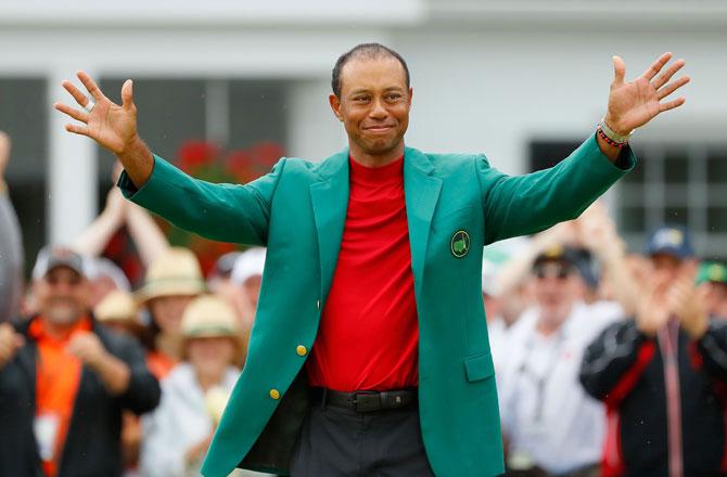 Ehrung auf Ehrung für Tiger Woods: Dem legendären grünen Blazer soll die höchste Ehrenmedaille der USA folgen.