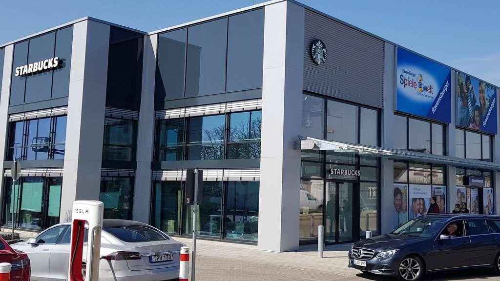 Ochtum Park Ravensburger Storck Und Starbucks öffen In Bremen