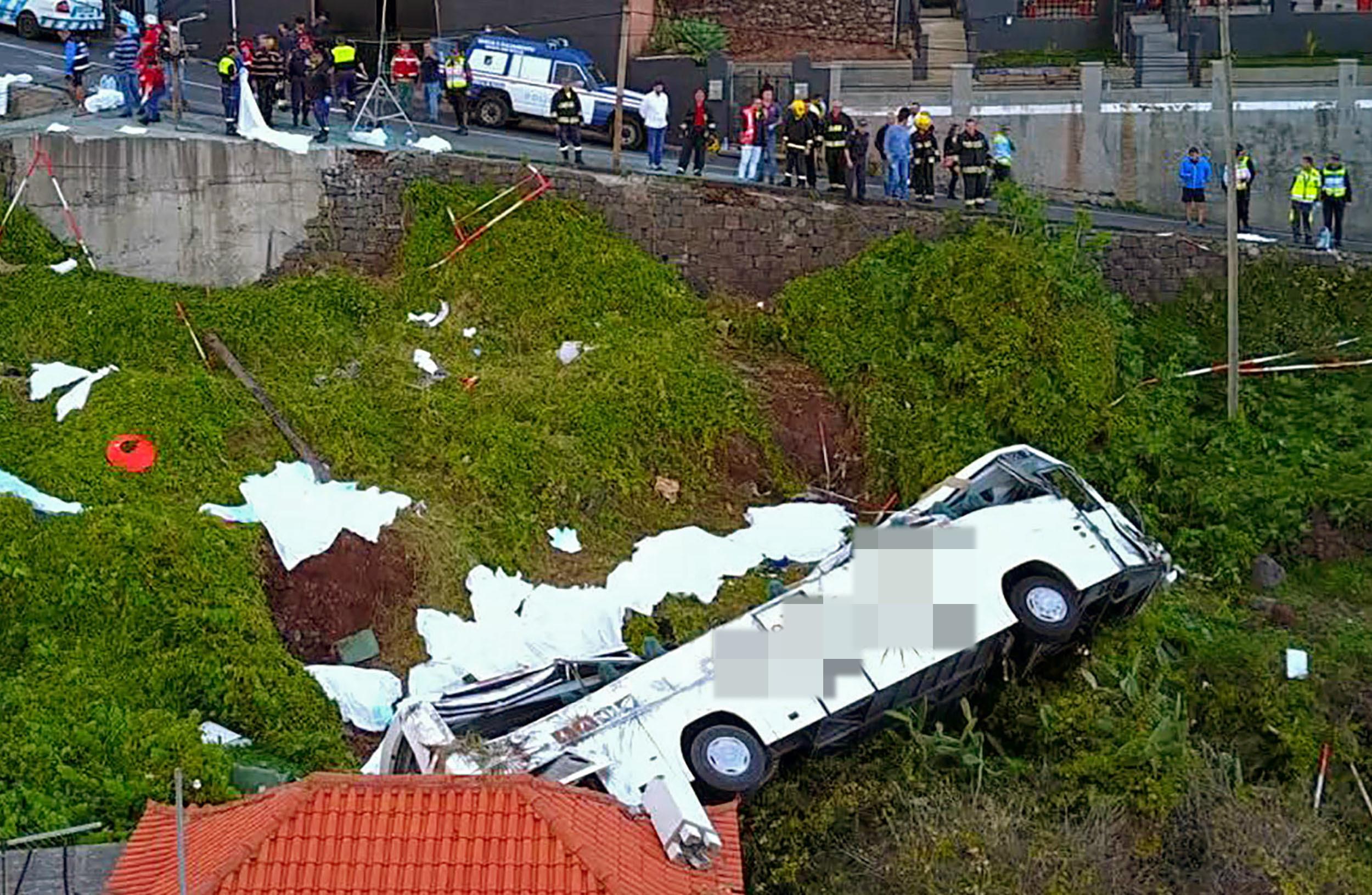 Unglück auf Madeira: Neue Details zu den Opfern - Schwere Vorwürfe gegen Busunternehmen