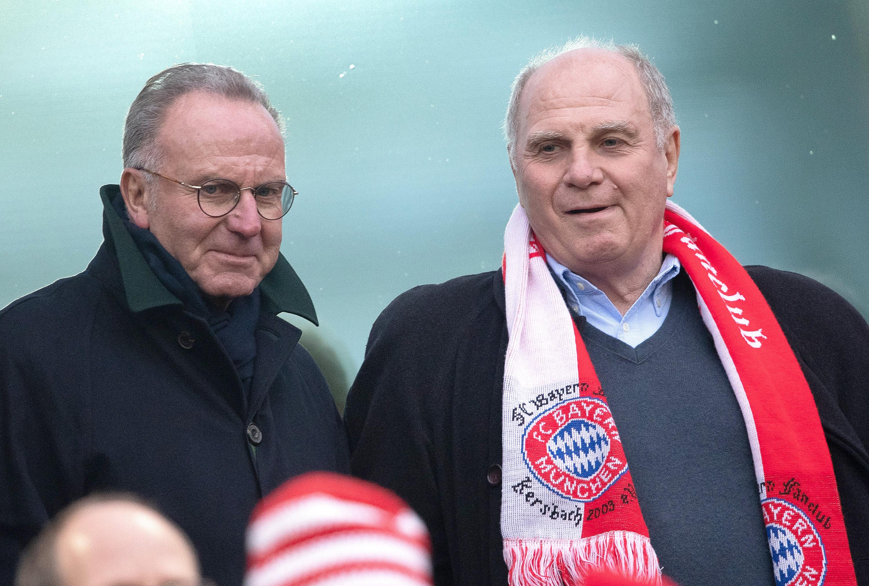 Karl-Heinz Rummenigge und Uli Hoeneß sind sich in der Kovac-Frage wohl uneinig.