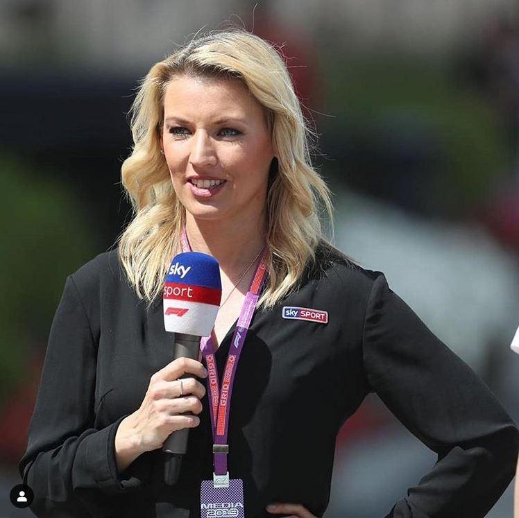 Formel 1 Bei Sky Warum Fehlt Moderatorin Sandra Baumgartner