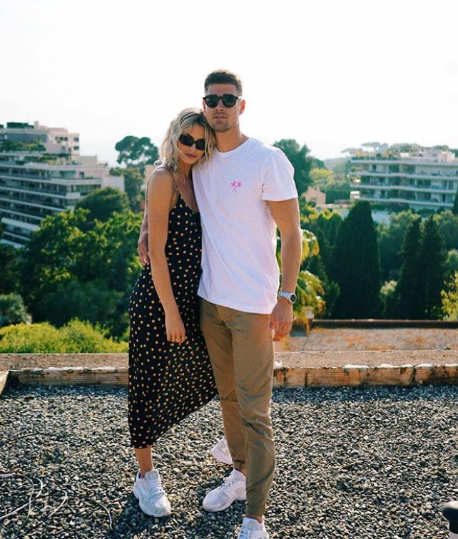 Lena Gercke Freund Dustin Schone Lena Gercke Hier Will