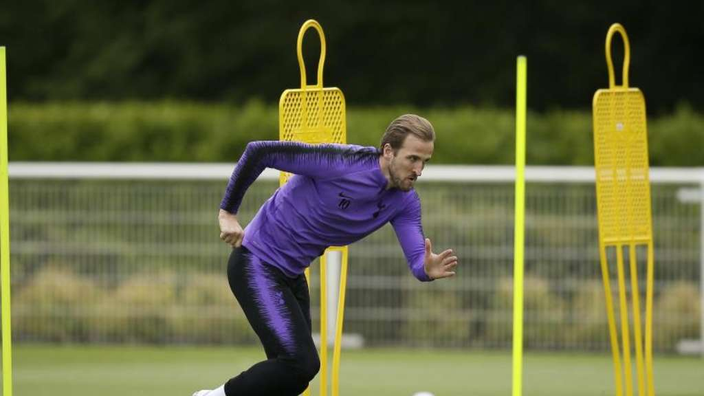 Steht im Champions-League-Finale gegen Liverpool in Tottenhams Startelf: Harry Kane. Foto: Tim Ireland/AP