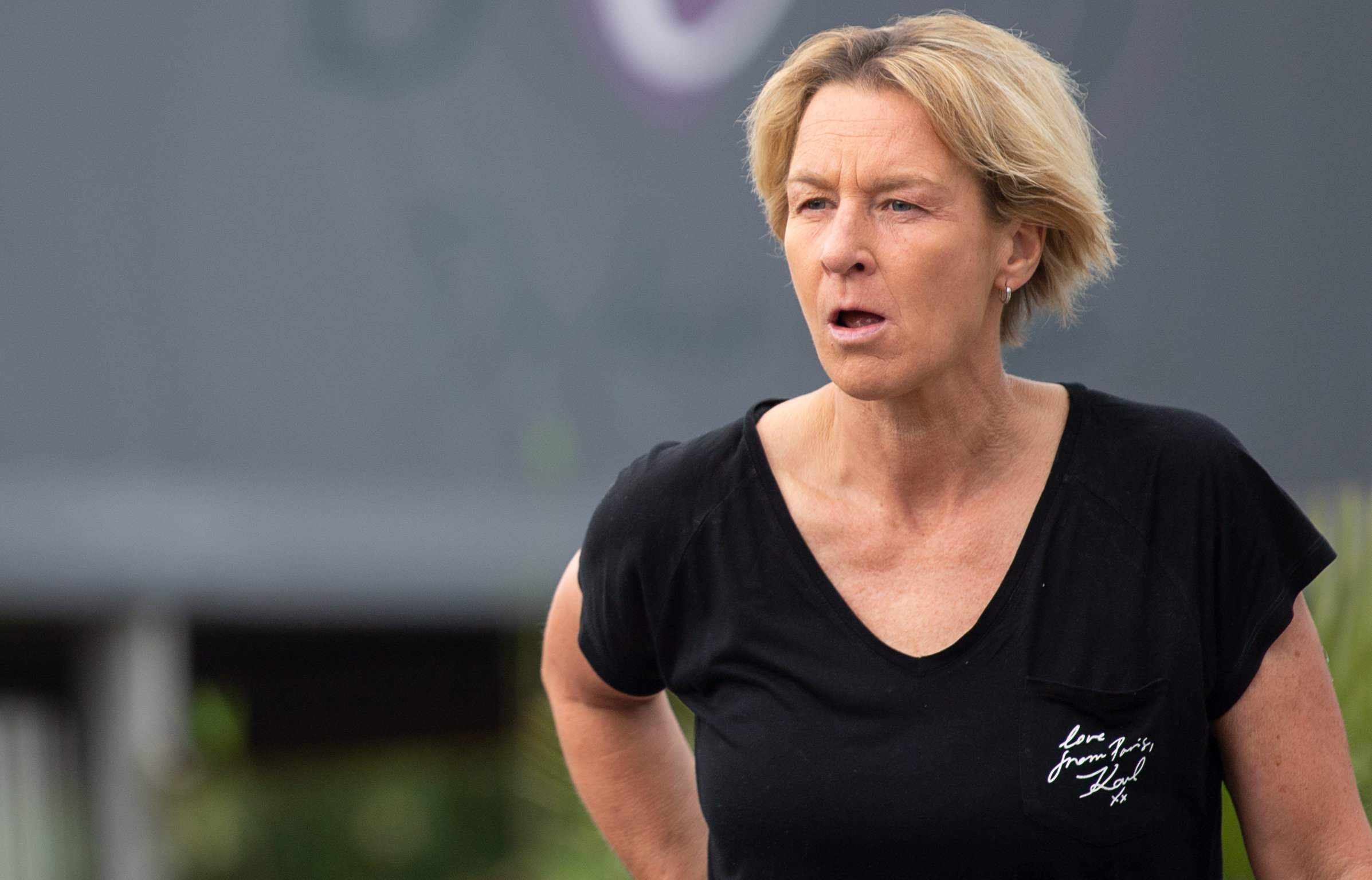Nach WM-Aus: DFB-Interimspräsident Rainer Koch äußert sich über die Zukunft von Bundestrainerin Martina Voss-Tecklenburg.