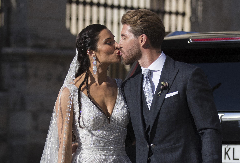 Spaniens Fußball-Star Ramos heiratet Schauspielerin Rubio