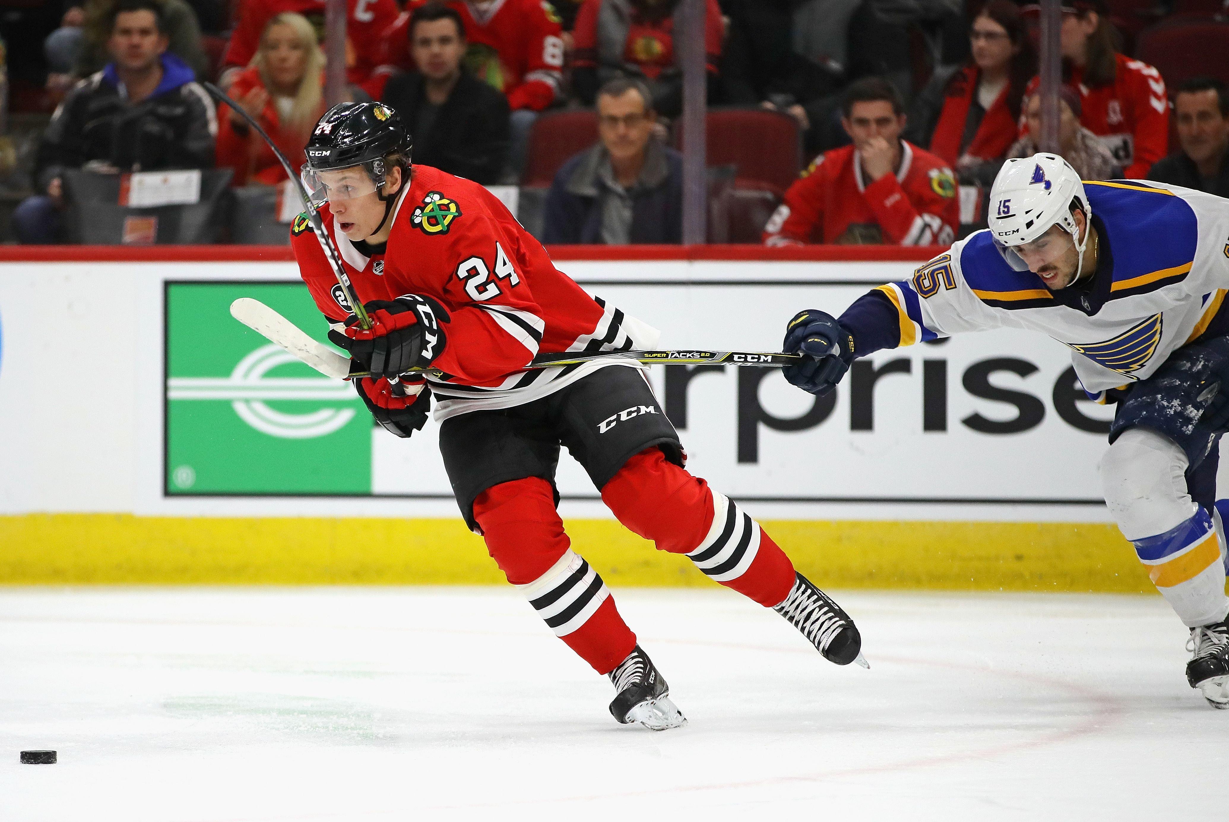 Dominik Kahun verlässt die Chicago Blackhawks. Der Klub transferierte ihn zu einem anderen Verein innerhalb der NHL.