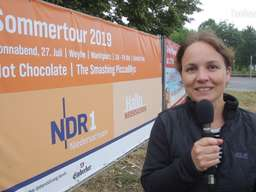 NDR-Sommertour in Weyhe mit Hot Chocolate