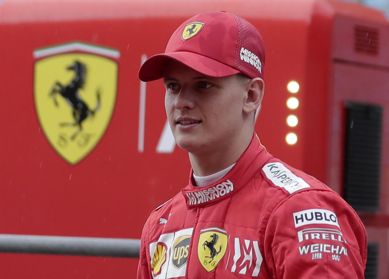 Mick Schumacher wird auf dem Hockenheimring in den Ferrari F2004 seines Vaters steigen.