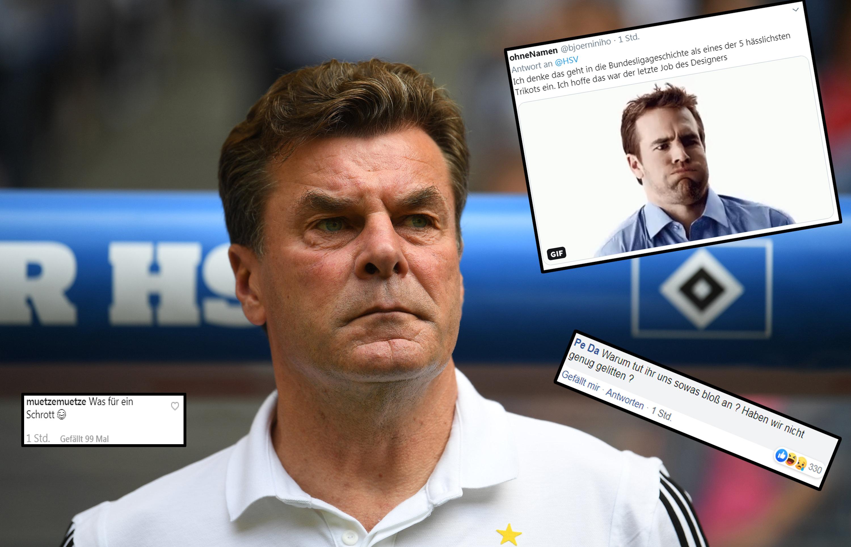 Gefällt Dieter Hecking das neue Auswärtstrikot des HSV?