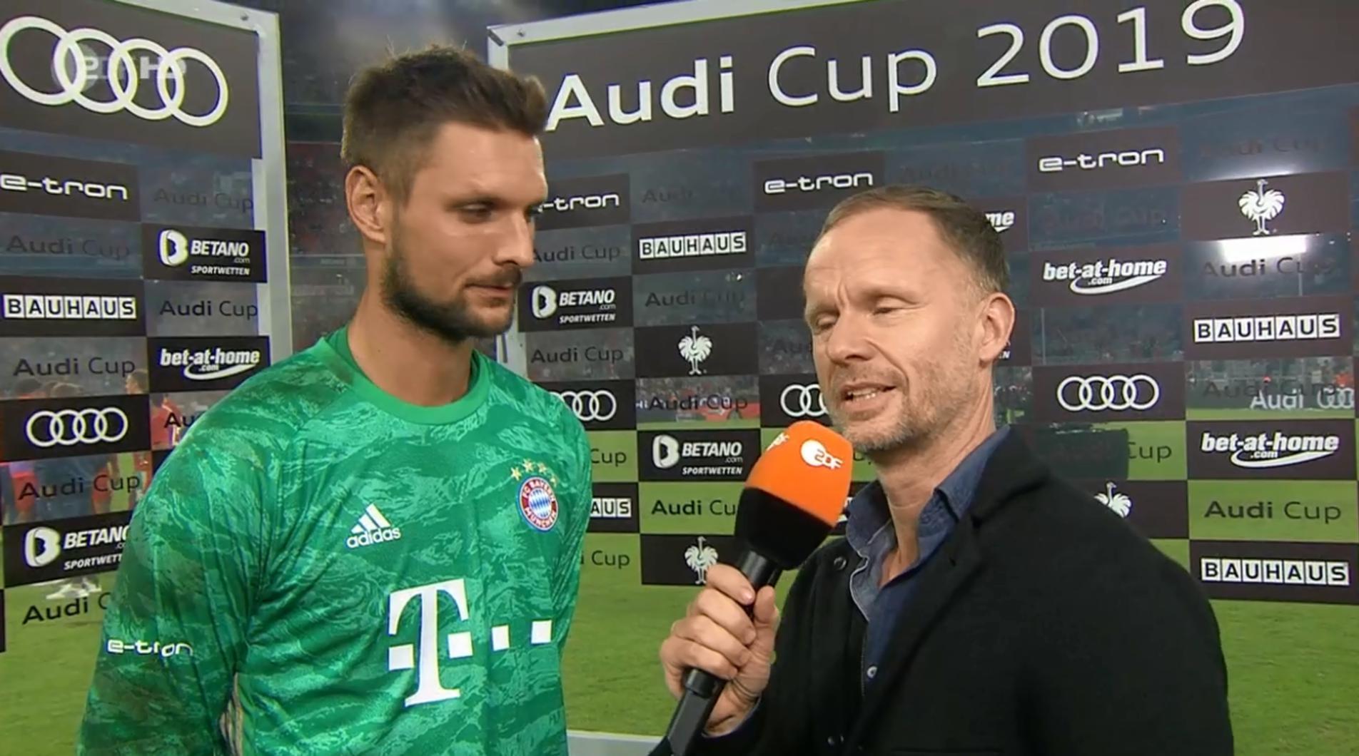 Zdf Reporter Unterbricht Ulreich Mitten Im Satz Bayern