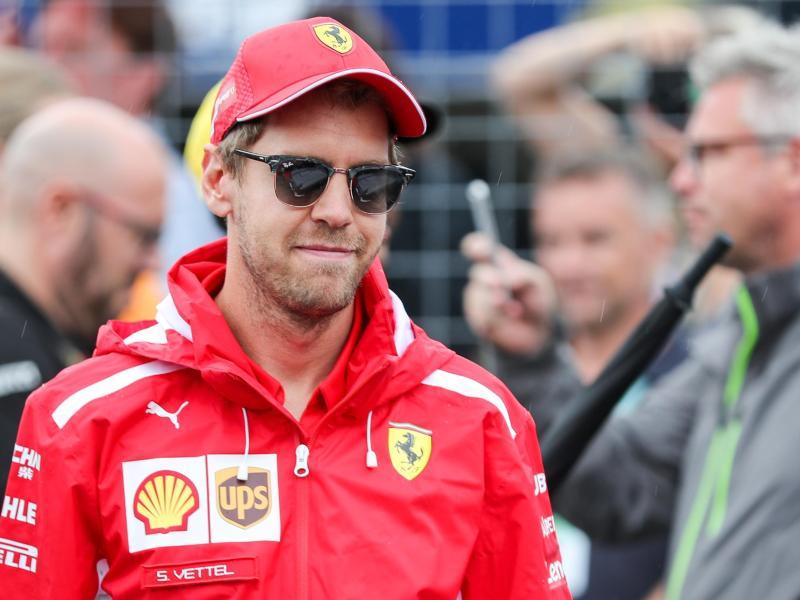 Hofft auf einen Sieg in Ungarn: Ferrari-Pilot Sebastian Vettel. Foto: Jan Woitas