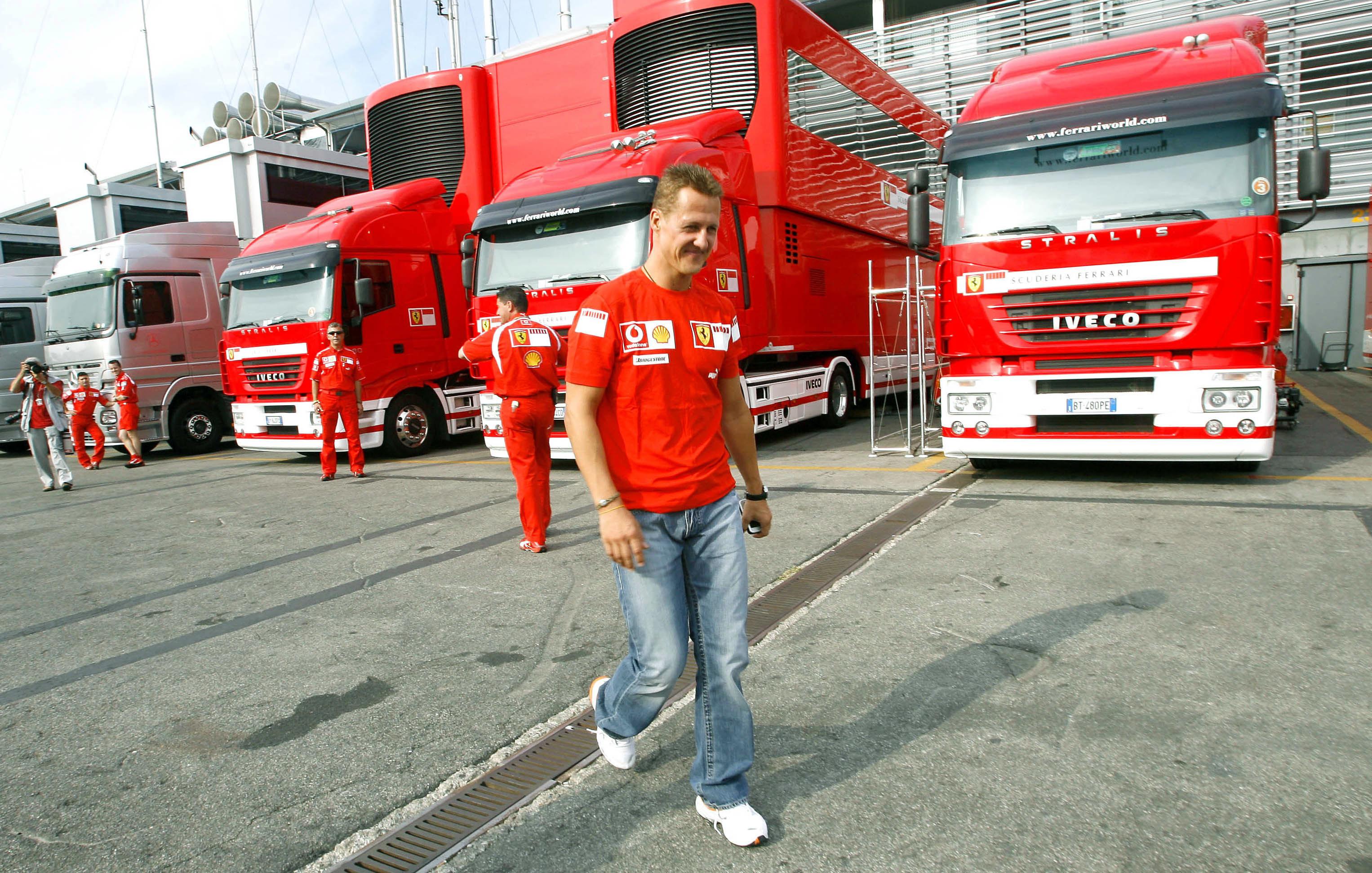 Mit Ferrari erzielte Michael Schumacher seine größten Erfolge.