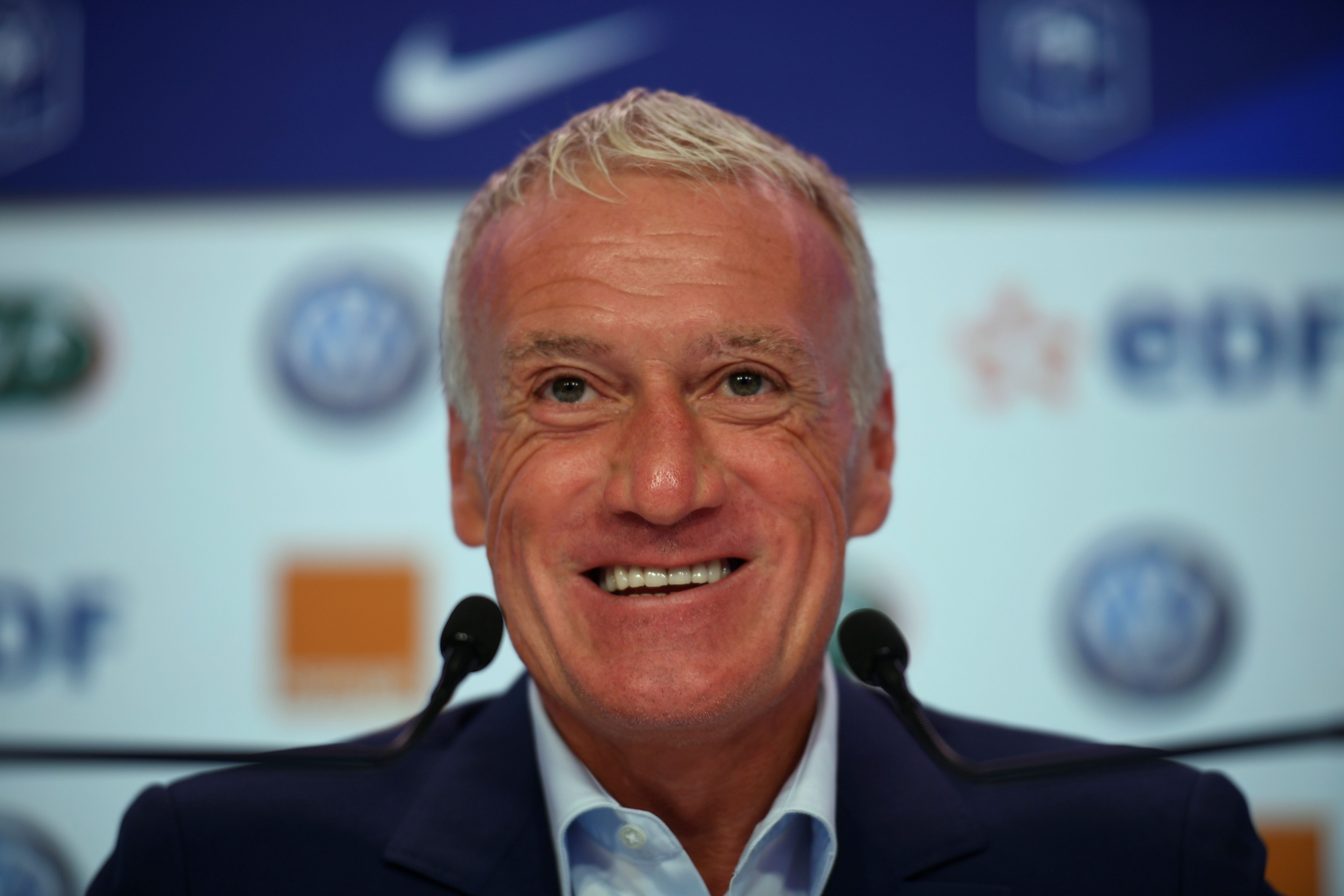 Didier Deschamps kann mit den vier Münchner Nationalspielern zufrieden sein - und wird wohl auch in Zukunft auf sie setzen.