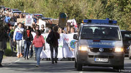 """Fridays-for-Future""-Protest in Weyhe"
