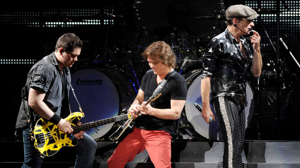 Van Halen Dress Rehearsal At The Forum